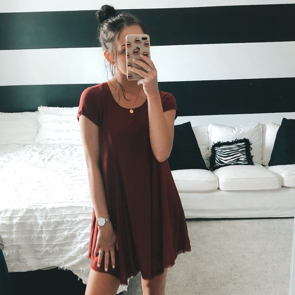 silence + noise Dresses & Skirts - Urban Outfitters Red Witchy T-Shirt Dress